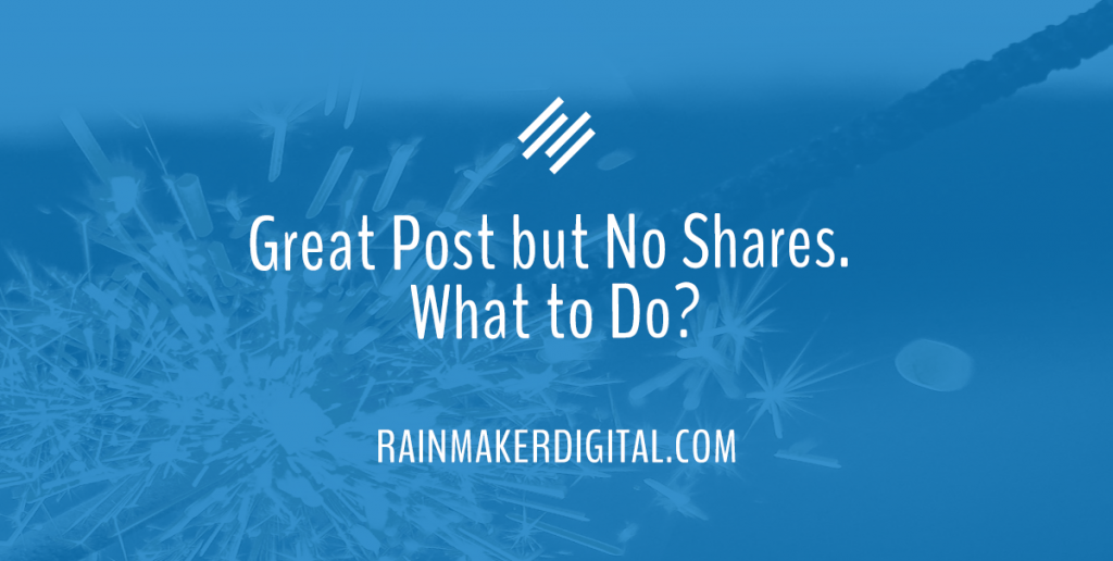 How to get post shares - Rainmaker Dispatch