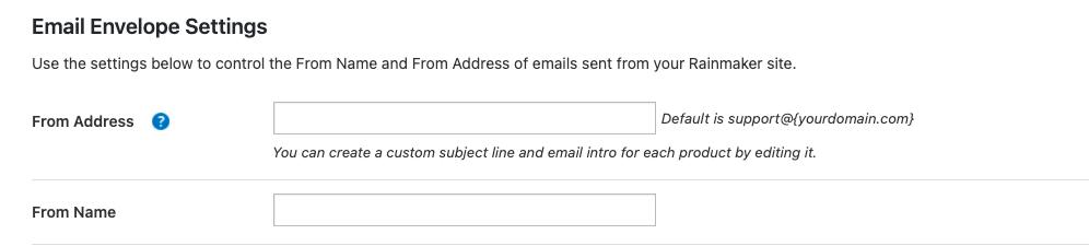 Email senders